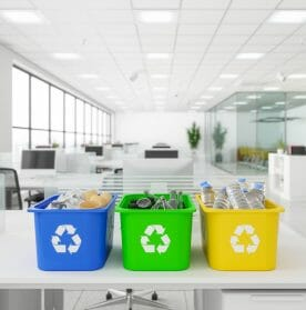 Recycling in the office - reducing waste