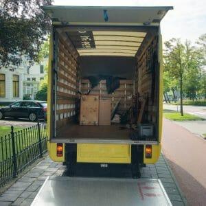 Removals Van - case study