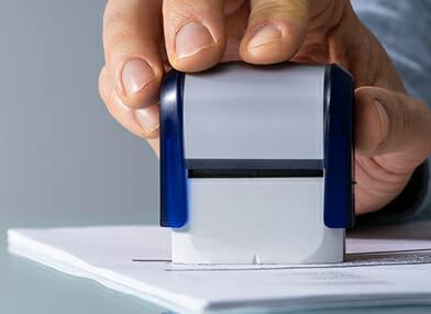 Stamp system