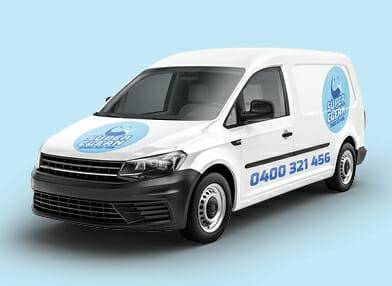 Car Sticker decals on Van