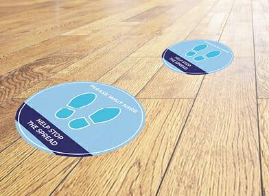 Floor Sticker signage