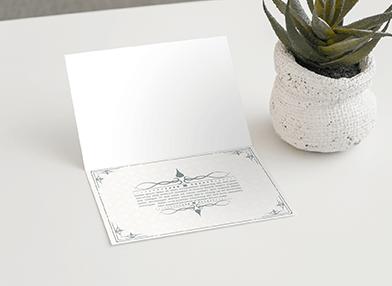 Print Creasing for card