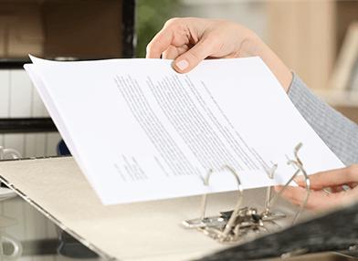 Hole Punching documents