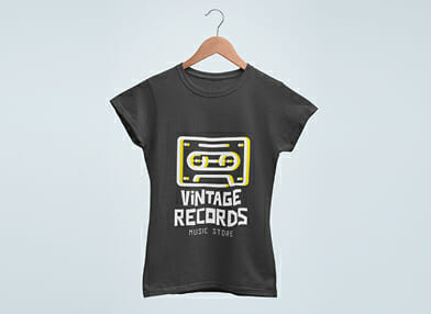 promotional tshirt for events