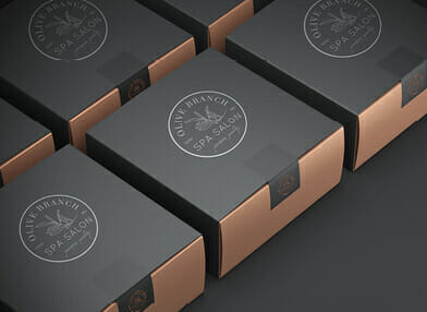 Premium business packaging boxes