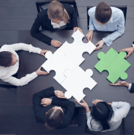 Partner with other businesses to implement cross promotion
