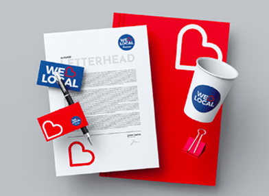 Branded print materials for reopening businesses