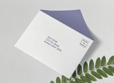 Branded business envelopes
