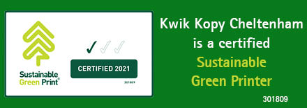 Kwik Kopy Cheltenham Sustainable Green Print