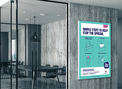 Hygiene safety posters