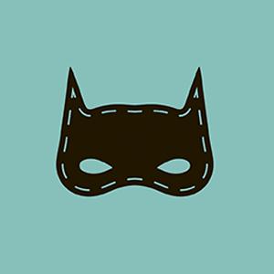 Batman promotional sticker