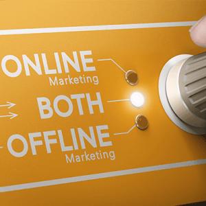 Online and offline marketing channels